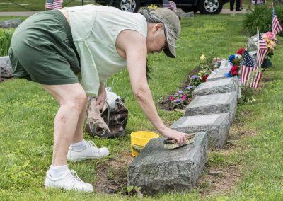 JMAS-Memorial-washing-headstone--0662